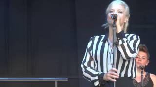 """Ina Müller """"Wenn dein Handy nicht klingelt"""" live in Rantum/Sylt am 25.07.2014"""