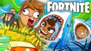 THE SHARK ATTACK BAIT TRAP! - Fortnite Battle Royale!