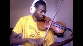 (Violin) Eminem - Lighters ft. Bruno Mars & Royce Da 5'9 (Cover by Eric Stanley)
