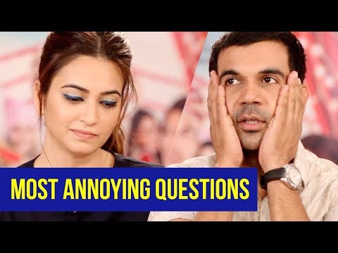 5 ANNOYING QUESTIONS ASKED IN INTERVIEWS | Rajkummar Rao, Kriti Kharbanda | Shaadi Mein Zaroor Aana