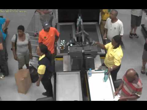 Cheeky Robbery in South Africa caught on CCTV!