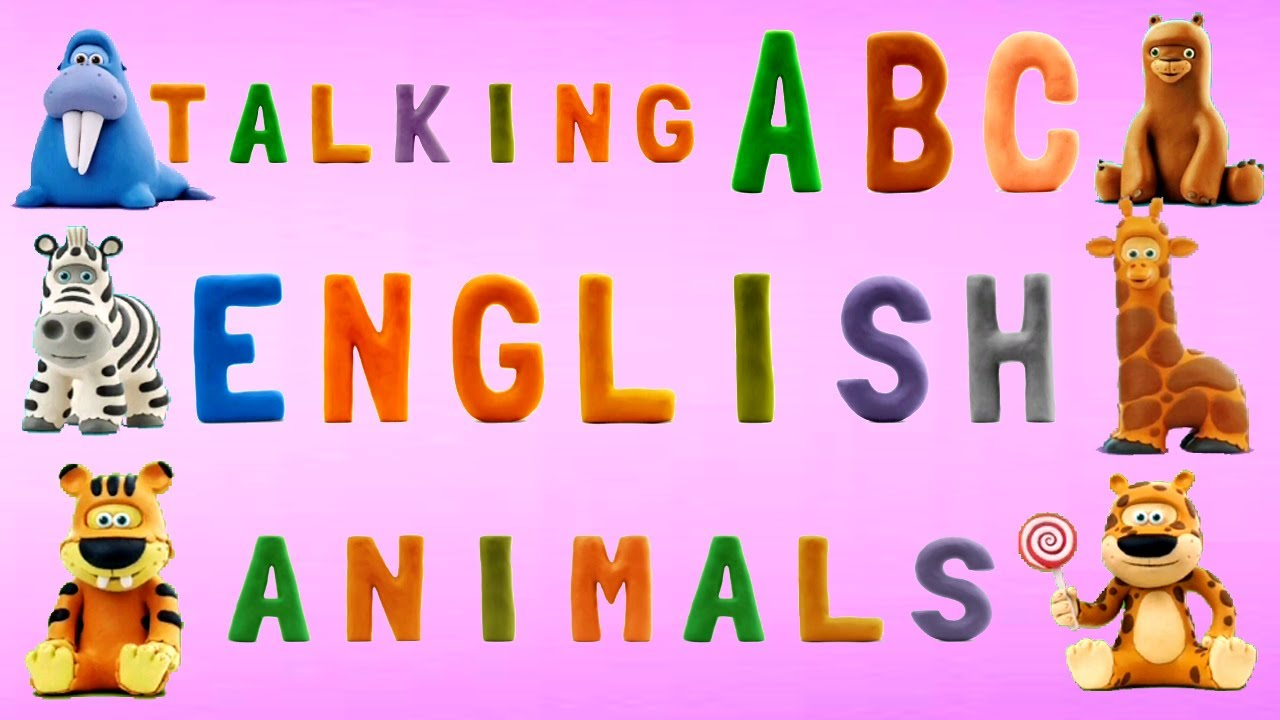 Talking ABC – English Alphabet Learning with Cute Animals – Funny Alphabet Song
