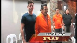 Erap tells son Jake to finish studies first