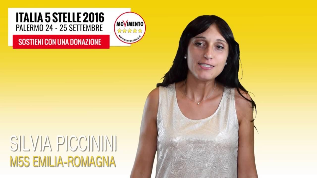 Silvia Piccinini per #Italia5Stelle - YouTube