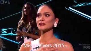 Miss Univers 2015 : L'incroyable erreur ! (sous-titré en français)