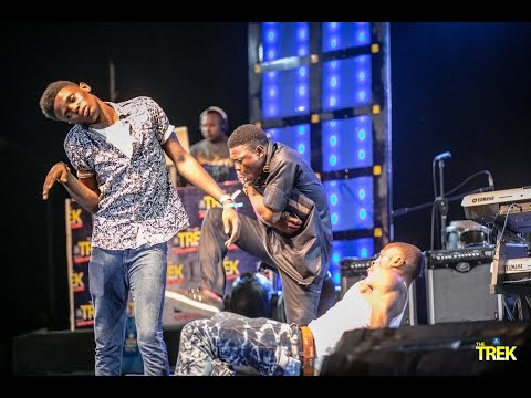 Video: Faze Performs Kolomental At #StarMusicTrek #MakurdiRocks