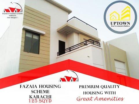 Fazaia Housing Scheme Karachi By Uptown Real Investment & Builders