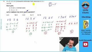 Kombinasyon 4 SINAVA HAZIR OL(Miray Yayınları AYT Soru Bankası Çözümleri)