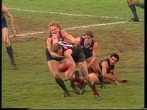 1989 Essendon v Footscray -  Western Oval