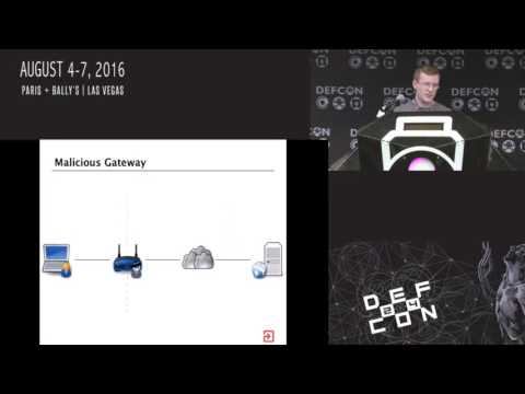 DEF CON 24 - Toxic Proxies - Bypassing HTTPS
