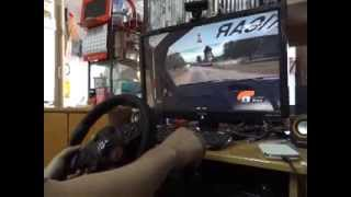 WRC FIA World Rally Championship 4 with Logitech Driving Force GT