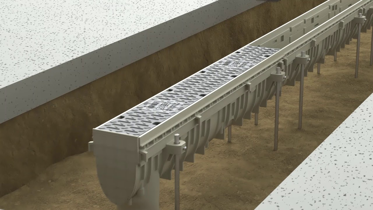 (Short Version for Installers) Josam Company PRO-PLUS Trench Drain Installation Video
