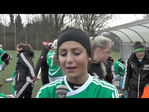Nadia Nadim after MSV Duisburg - Fortuna Hjörring on 26 01 2014