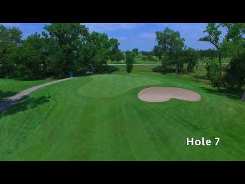 Quail Run Golf Course - Columbus, NE - Aerial Tour