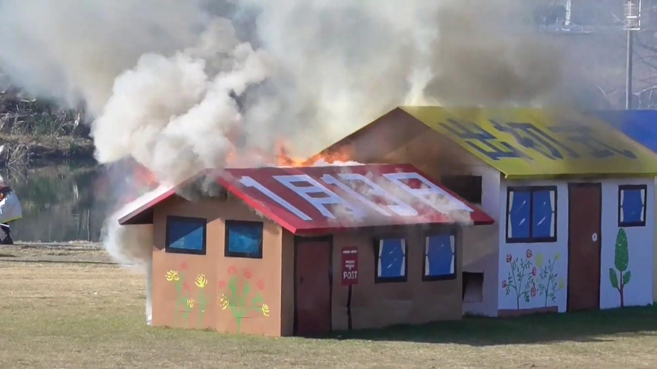 火事だ!男の子が大好きなカッコイイ消防隊があっという間に鎮火!