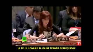 Arjantin Devlet Başkanı Cristina Fernandez'in BM toplantısında yaptığı konuşma..