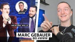 Justin reagiert auf Marc bei WorldWideWohnzimmer.. | Reaktion