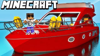 Minecraft Mods: Estilo Piratas do Caribe (Novos Barcos) - Small Boats Mod