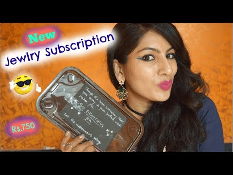 *New* Jewelry Subscription Box India| October BeautyyfulYou Box @Rs.750
