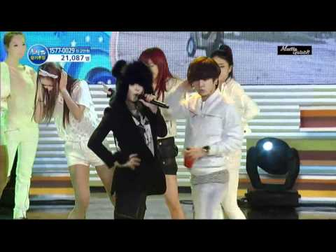 2NE1 - Go Away on Hope TV 101022