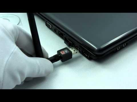 MINI KARTA SIECIOWA WI-FI USB 802.11N ANTENA GOK522C