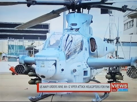 DR. AQAB MALIK DISCUSSES PAKISTAN'S ORDER OF 9 US NAVY AH-1Z VIPER ATTACK HELICOPTERS