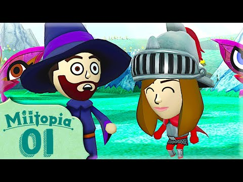 ON PART A L'AVENTURE ! MIITOPIA EPISODE 1  NINTENDO SWITCH