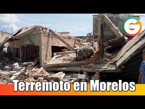 Terremoto en Morelos , 42 fallecidos hasta el momento #FuerzaMéxico