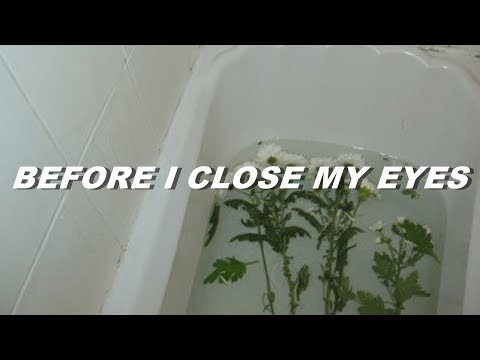 xxxtentacion - before i close my eyes (lyrics)
