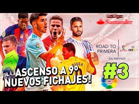 FIFA 18 | FUT SIN PARTNER LIGA SANTANDER  #3 ASCENSO A 9º DIVISIÓN  + NUEVOS FICHAJES !!!