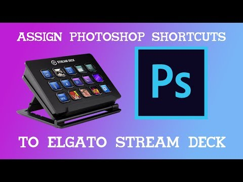 Assign Photoshop Shortcuts To Stream Deck