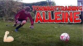 Torwarttraining ALLEINE und ohne TORWARTTRAINER   4GKs