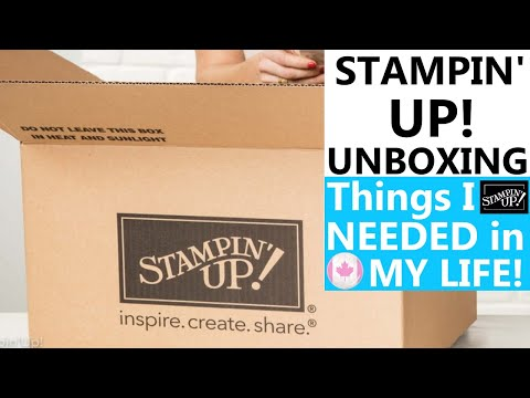 """📦THINGS I """"NEEDED"""" IN MY LIFE!!   MINI PAPER PUMPKIN BOXES?!   Stampin' Up! Unboxing June 2020 Order from YouTube · Duration:  12 minutes 32 seconds"""