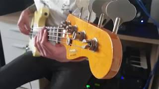 Queen - Don't Stop Me Now [Bass Cover by Dombi Viktor]