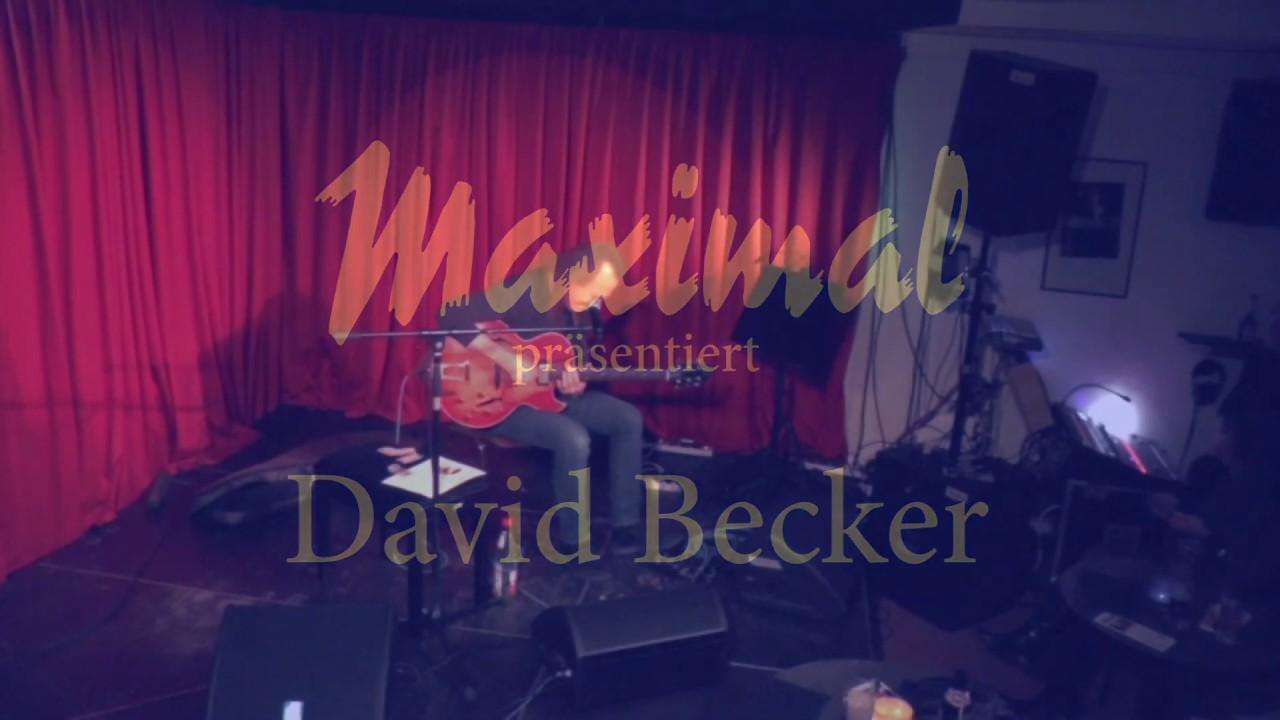 """Download David Becker mit """"I got Rhythm""""; Live-Konzert im Maximal in Rodgau"""