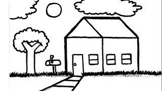 drawing simple landscape