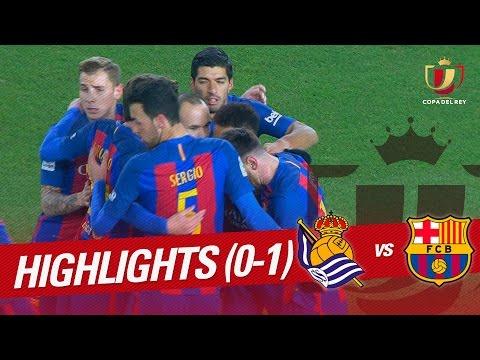 Resumen de Real Sociedad vs FC Barcelona (0-1)