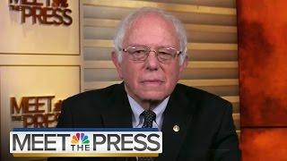 Bernie Sanders: Tim Kaine Does Not Share My Political Views (Full) | Meet The Press | NBC News