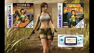 Tomb Raider GBC and  Tomb Raider Curse of the Sword