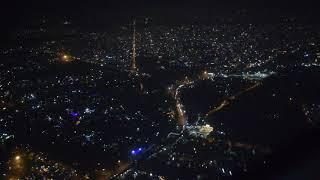 Diwali 2018 New Delhi city view from sky