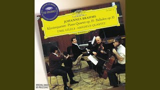 Brahms: 4 Ballades, Op.10 - No.4 In B