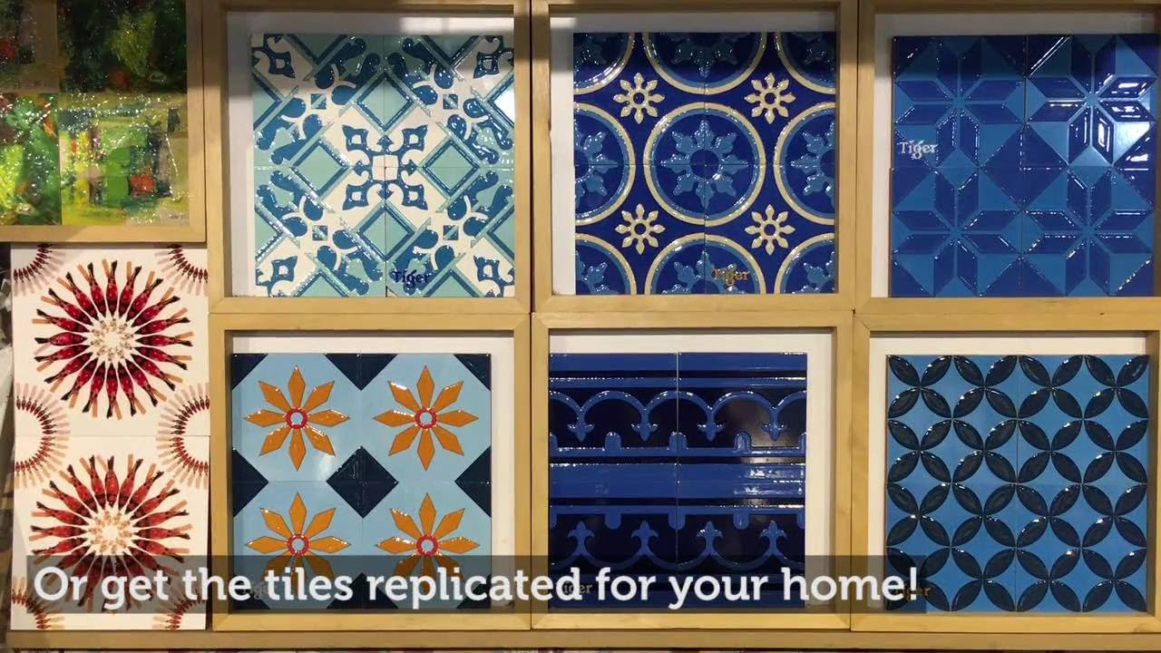 Visit: See and buy Peranakan tiles from the 70s at the Peranakan ...