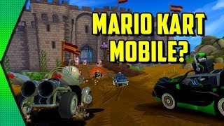 Beach Buggy Racing 2 - SINGLEPLAYER MARIO KART MOBILE? | MGQ Ep. 246