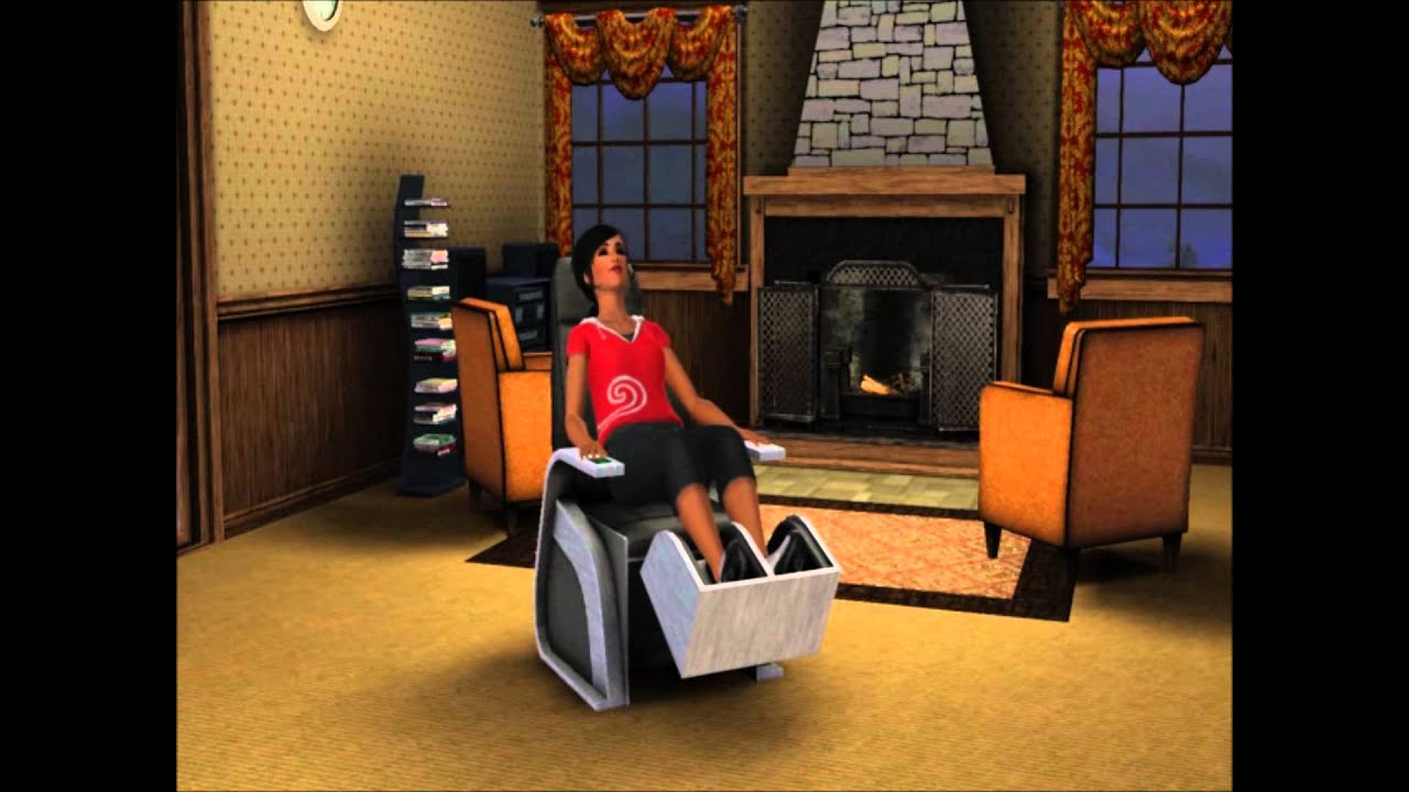 Sims 3 Store: Sharper Sim Foot Massage Chair