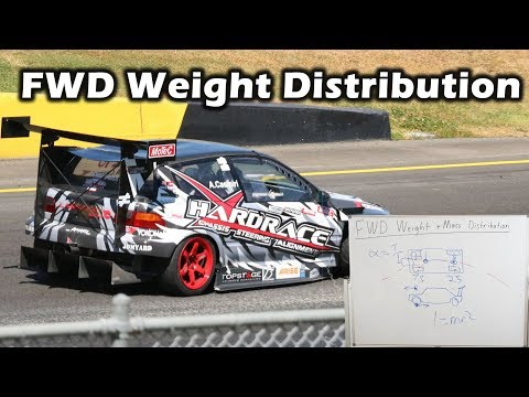 """Front Wheel Drive Weight Distribution Explained - What is the """"Ideal""""?"""