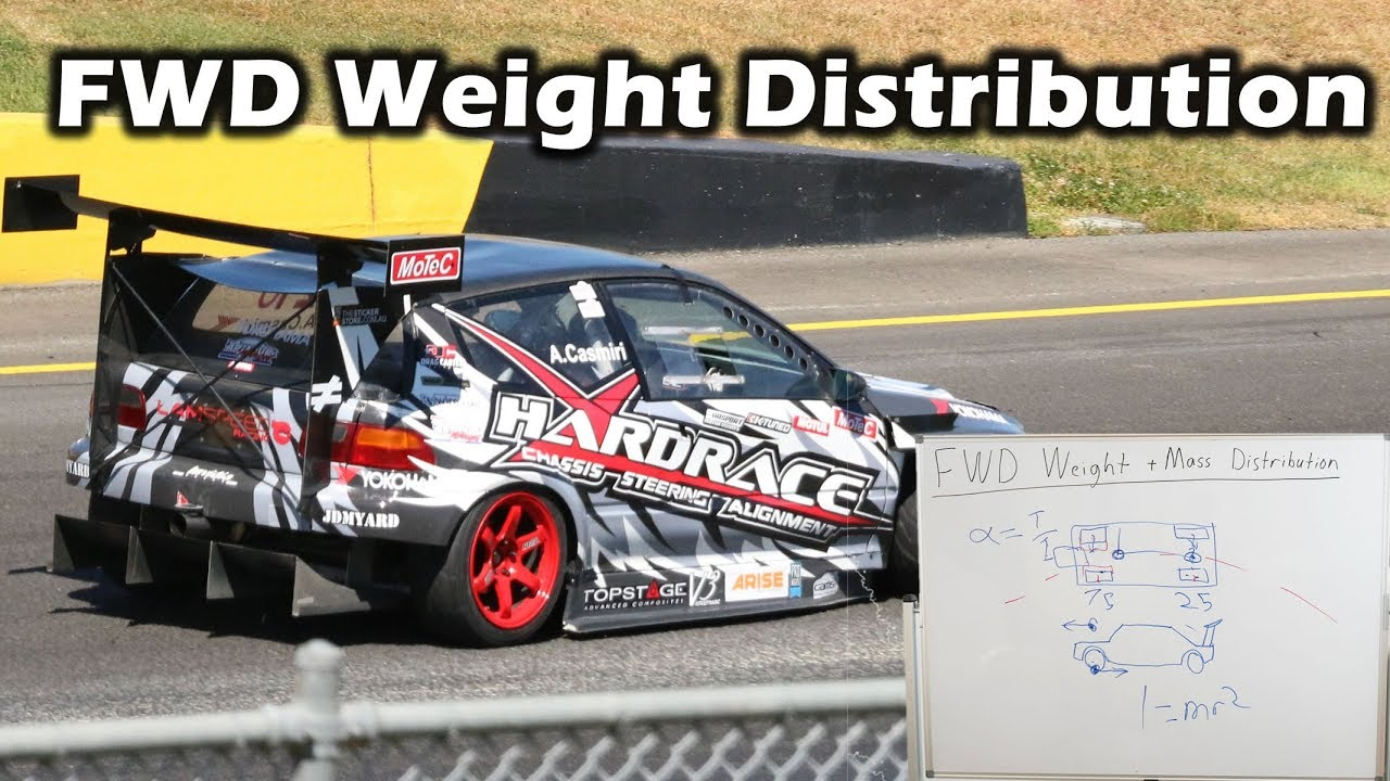 Front Wheel Drive Weight Distribution Explained - What is the