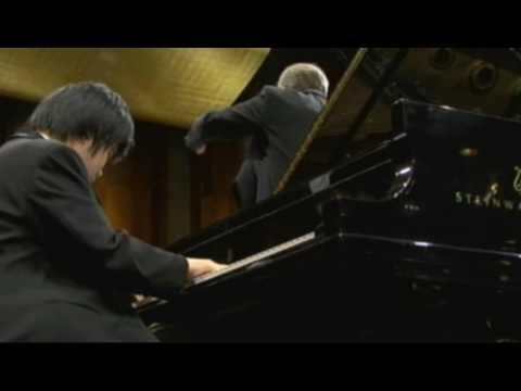 Nobuyuki Tsujii 辻井伸行 2009 Cliburn Competition FINAL CONCERT ショパン ピアノ協奏曲 第二番 第二楽章