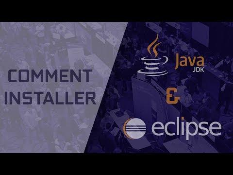 Comment Installer Java JDK et Ese  Français 2017