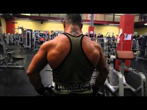 DB upright row variation for traps