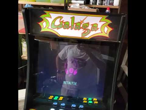 Galaga arcade1up upgrade from J M Arcades